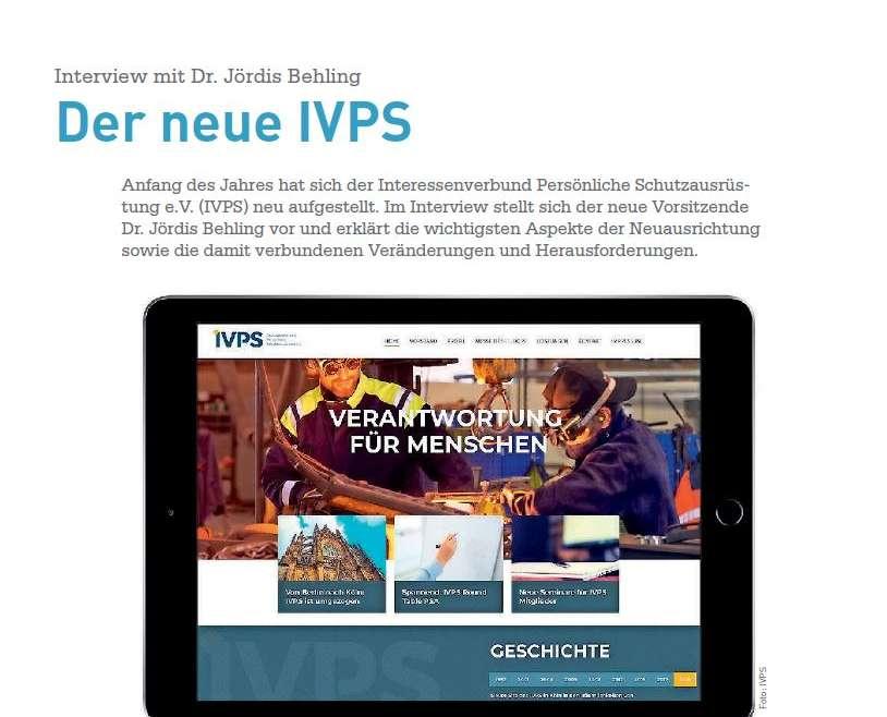 Der neue IVPS: Gespräch mit Dr. Jördis Behling